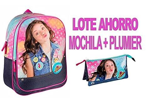 SOY LUNA OFERTA PACK AHORRO MOCHILA + PLUMIER: Amazon.es: Juguetes y juegos