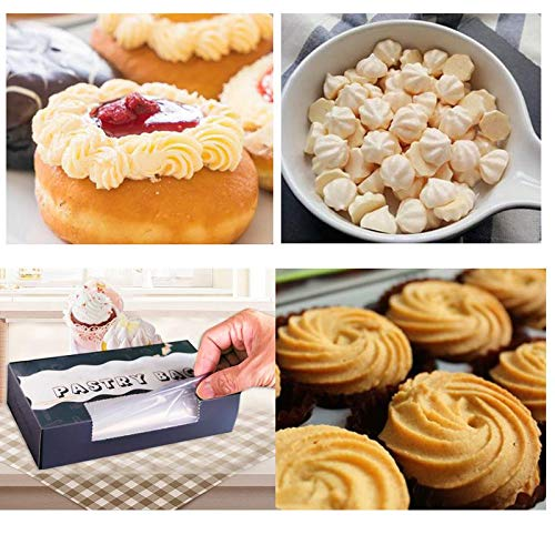 Piping Bags - 50Pcs/Lot Roll Disposable Thickened Cream Cake Embroidery Flower Bag Tear-off Pastry Bags Upset 7 Silk Cake Icing Piping Bag by Piping Bags (Image #3)