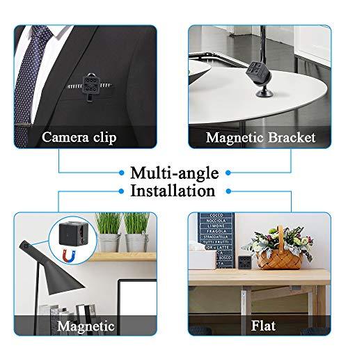Mini Spy Camera, ZTCOO 1080P HD Hidden Camera, Nanny Cam, Surveillance Camera with Night Vision| Loop Video| Motion Detection| Home Security Camera, USB Charging Camera Indoor & Outdoor