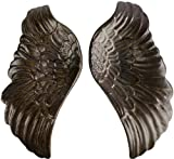 anthropologie decorative dish - HomArt Pair of Ceramic Wings, Bronze