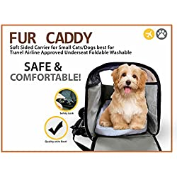 Airline Approved Small Pet Carrier Soft-sided Travel Bag For Small Dogs Cats