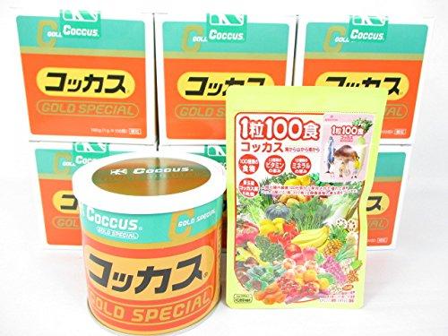 コッカスゴールドスペシャル6缶+「1粒100食コッカス」1袋付セット B0155STJ94