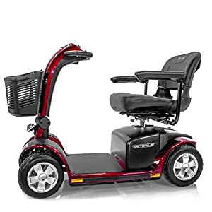 VICTORY 10 Pride 4-wheel Electric Scooter SC710 Red