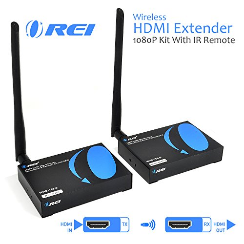 OREI Wireless HDMI Transmitter Receiver Extender 1080P