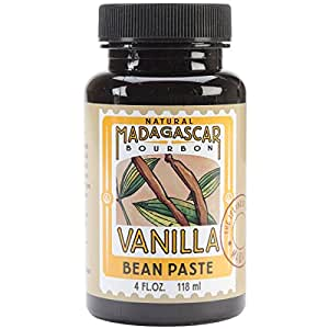 LorAnn Extracts, Natural Madagascar Vanilla Bean Paste, 4-Ounce Bottle (Pack of 3)