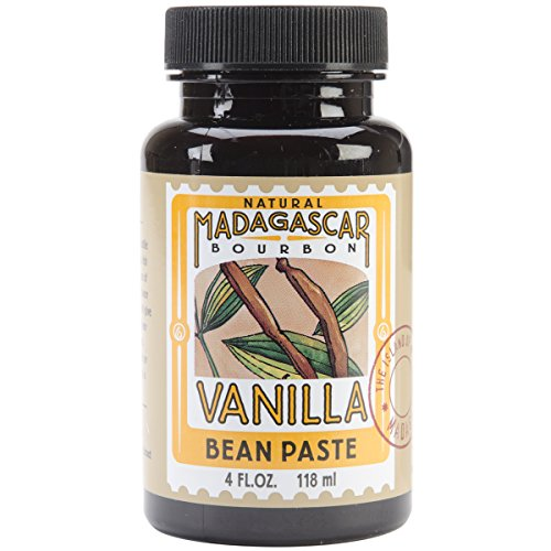 LorAnn Extracts, Natural Madagascar Vanilla Bean Paste, 4-Ounce Bottle (Pack of 3) by LorAnn Oils