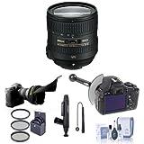Nikon 24-85mm f/3.5-4.5G ED AF-S VR Nikkor Lens Bundle. USA. Value Kit with Acc