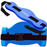 VERISA Aqua Joqqing Belt for Aquatic Aerobic Low Impact Exercises - Blue Foam Swim Belt Flotation1PC