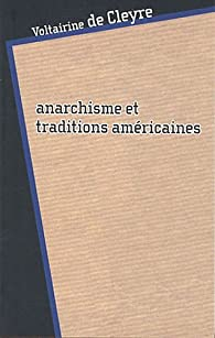 Book's Cover of Anarchisme et traditions américaines