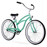 "Firmstrong Urban Lady Single Speed Beach Cruiser Bicycle, 24"", Mint Green"