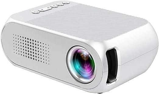 TOPQSC Mini proyector, proyector de Video portátil 1080P, Ofrece ...