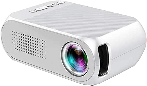 TOPQSC Mini proyector, proyector de Video portátil 1080P, Ofrece el Mismo Dispositivo de Pantalla, Conecta de Forma inalámbrica monitores, televisores, proyectores: Amazon.es: Electrónica