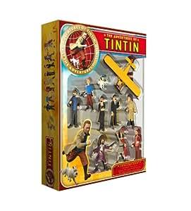 Plastoy Las Aventuras de Tintín - Juego de figuras de colección