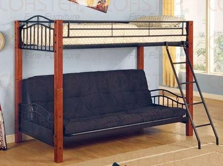 coaster-furniture-twin-over-futon-bunk-bed-in-black-haskell-co2249