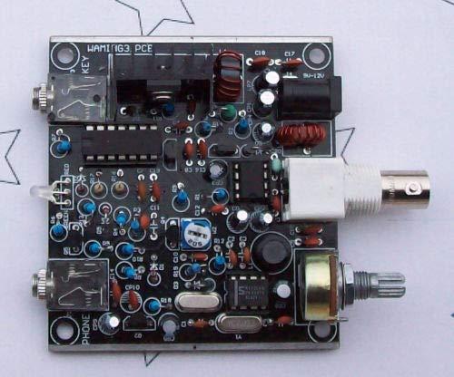 (Davitu Frog Sounds HAM Radio QRP Kit Telegraph CW Transceiver Receiver Radio Station V3)