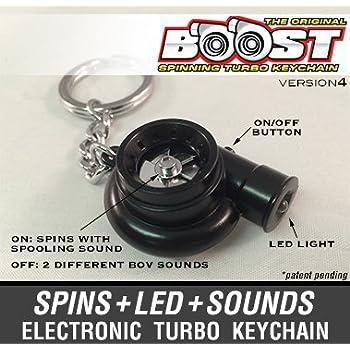 Amazon.com: Boostnatics Llavero electrónico turbo con ...