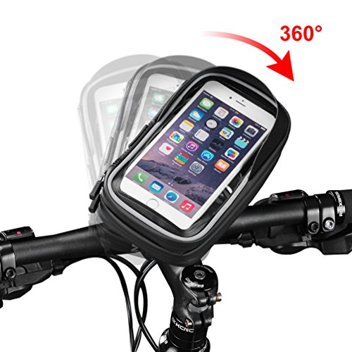 04ce31472ec RockBros Bike Phone Case Waterproof Bicycle Phone Mount Bag Touch Screen  MTB Handlebar Phone Holder Pouch