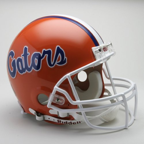Florida Gators 1979-2008 Throwback Riddell Full Size Authentic Proline Football Helmet (Florida Gators Throwback Helmet)