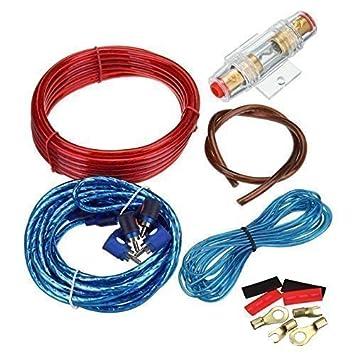 ridgeyard 1500w car amplifier wire wiring kit 10ga 60 amazon co uk rh amazon co uk car audio wiring kit for sale car audio wiring kit installation