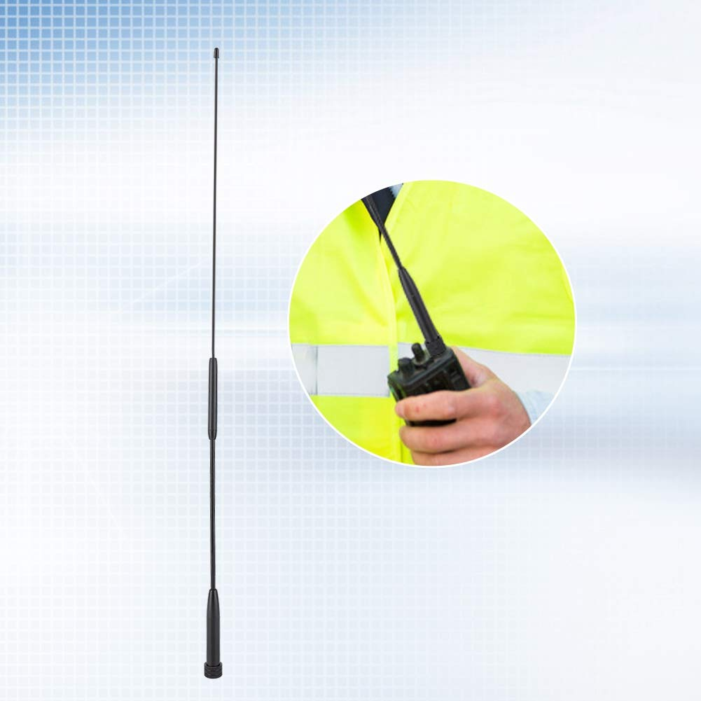 VX-110 VX-150 VX-8R VX-131 VX-2R VX-17 VX-3R VX-170 Antena de Radio SMA-Macho 144 VX-6R VX-7R VX-5R VX-160 VX-130 430MHz 5dBi Walkie Talkie Antena para YAESU//Vertex VX-1R