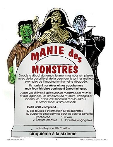 Manie Des Monstres -