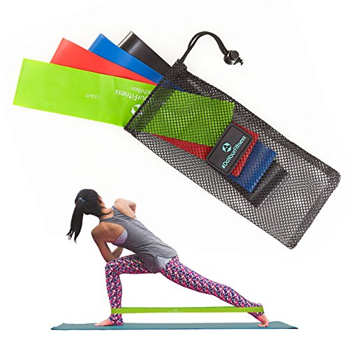 Resistance Loop Bands - Set of 4 - Best Fitness Exercise Ban