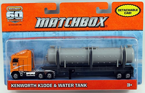 Hauling Tanks Water (Matchbox Super Convoy - Kenworth K100E & Water Tank)