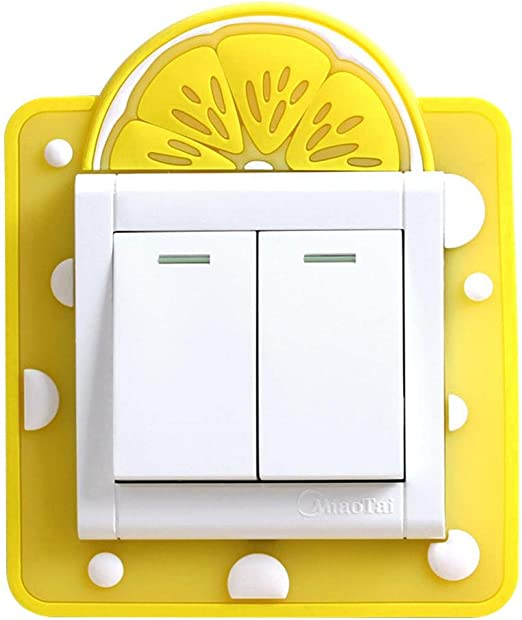 Home Switch Stickers Wall Socket Decoration Fabric Light Switch Protector