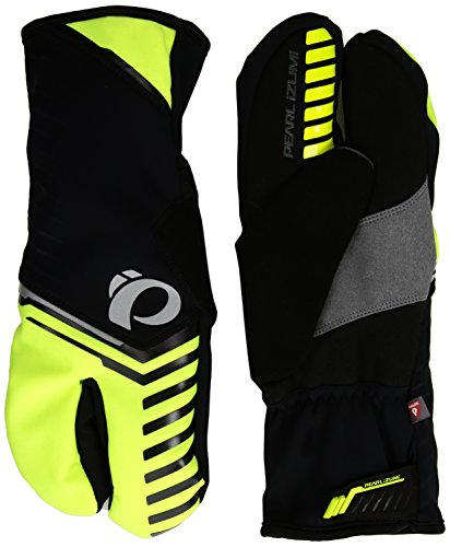 Pearl iZUMi Pro Amfib Lobster Gloves, Screaming Yellow, Medium from PEARL IZUMI
