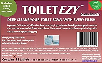 Amazon.com: EZY Cleen® Toilet EZY Non-Toxic, All Natural Toilet ...