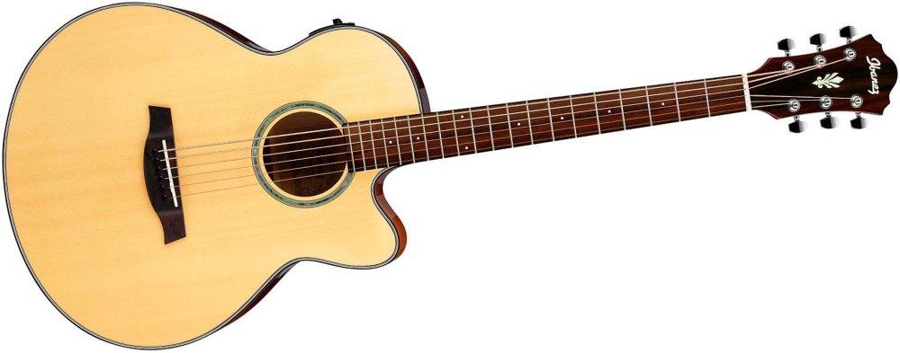 Ibanez aelbt1 guitarra electroacústica barítono: Amazon.es ...