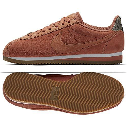 Nike Womens Classic Cortez ALC Premium Terra Bush Leather Sneaker (Large Image)
