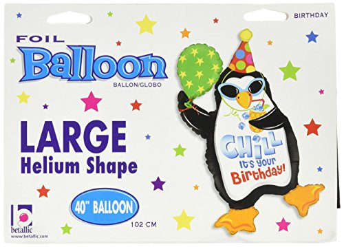 Chill It's Your Birthday Penguin 40