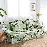 RUGAI-UE Sofa Slipcover sofa cover tight fitted elastic gasket cover three upholstered sofa full four living room,Four seater sofa 235-300cm,Love home