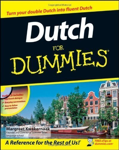 Dutch For Dummies 1st (first) Edition by Kwakernaak, Margreet published by For Dummies (2012)