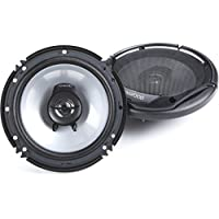 Kenwood KFC-1665S 6.5 New 300W 2-Way Car Audio Coaxial Speakers Stereo