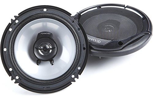 Kenwood KFC-1665S 300-Watt 6.5-inch-2-way sports series Flush Mount Coaxial Speakers