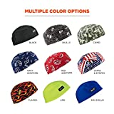 Ergodyne Chill Its 6630 Skull Cap, Lined with Terry