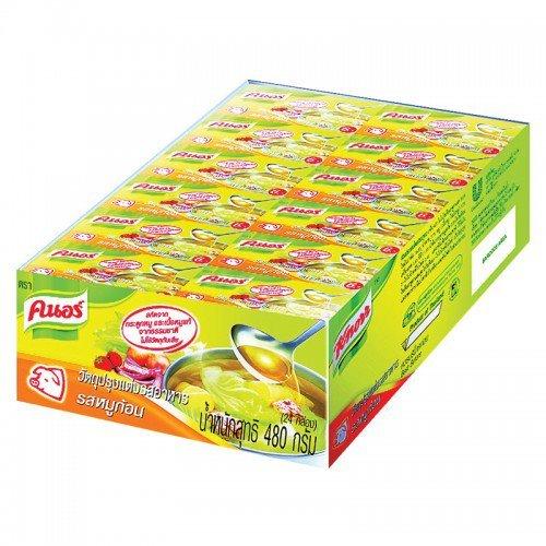 [Knorr Bouillon Cubes Pork flavor 20g. Pack 24] (Heinz Dog Costume)