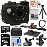 Intova X2 Marine Grade Wi-Fi HD Video Action Camera Camcorder & Video Light + 64GB Card + Handlebar, Helmet, & Suction Cup Mounts + Case + Tripod Kit