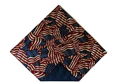 Pocket Square Vintage American Flag Celebration (Toddler) ()