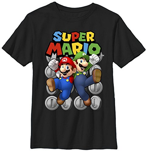 Youth: Super Mario- Ultimate Bros Kids T-Shirt Size YL