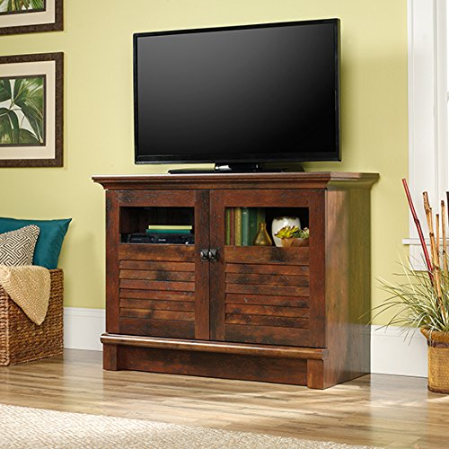 Sauder Harbor View TV/accent Cabinet in Curado Cherry (Harbor View Tv Stand)