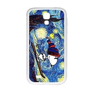 Van gogh starry night paintings snoopy Cell Phone Case for Samsung Galaxy S4 Kimberly Kurzendoerfer