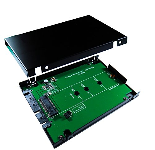 """(ZTC Sky 2.5"""" Enclosure M.2 (NGFF) SSD to SATA III Board Adapter. Multi Size Fit with High Speed 6.0GB/s. Model ZTC-EN006 )"""
