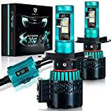 LED Headlight Bulbs Conversion Kit - H13(9008)CREE XHP50 Chip 8000 Lumen 6K Extremely Bright 68w Cool White...