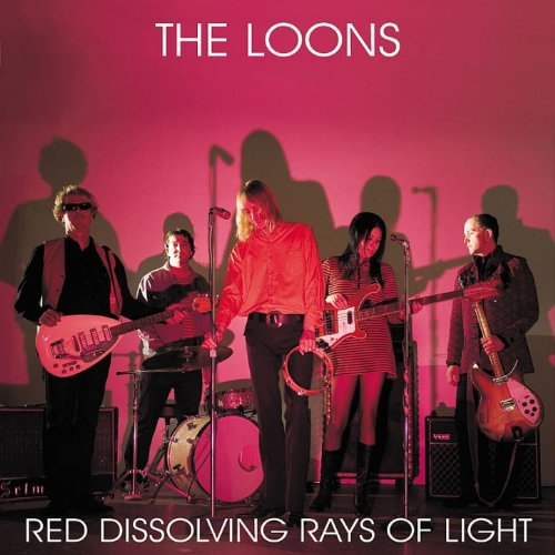 Red Dissolving Rays Light Loons product image