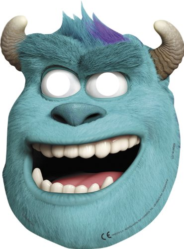 Sully Monster (Monsters Inc Monsters University Party Sully Face Masks x 6)