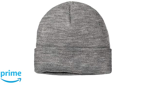 047171c0298 Merona Men s Knit Beanie (Light Grey Heather) at Amazon Men s Clothing  store