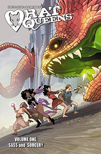 Rat Queens 1 Sass Sorcery product image